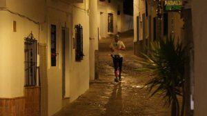 Durante la carrera se disfrutó de la belleza de este pueblo del Genal.