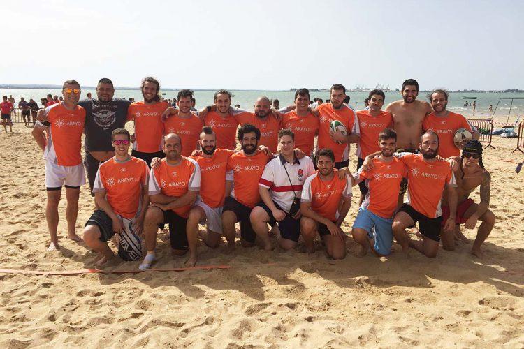 El Club de Rugby Los Bandoleros luchó por la plata en el VI Torneo Villa de Puerto Real