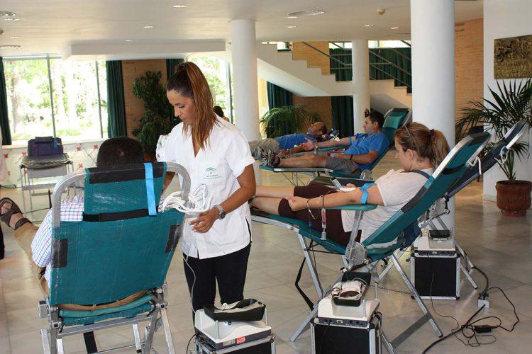 Cruz roja organiza una nueva campaña de donación de sangre en Ronda