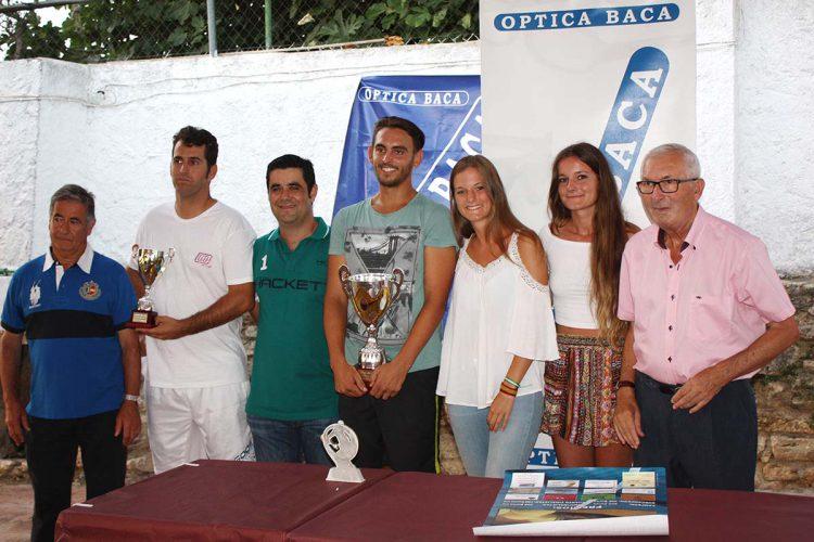 Alejandro García se proclamó campeón del Torneo de Tenis Óptica Baca