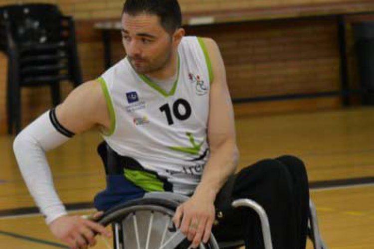 El jugador de baloncesto en silla de ruedas Josema Conde no estará finalmente en las Paraolimpiadas