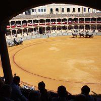 La Goyesca es el principal espectáculo taurino de Ronda.