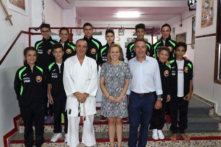 Deportistas rondeños representan a España en el Campeonato de Europa de Kárate Wado