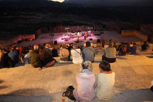 Los conciertos se están desarrollando en el auditorio de Blas Infante.