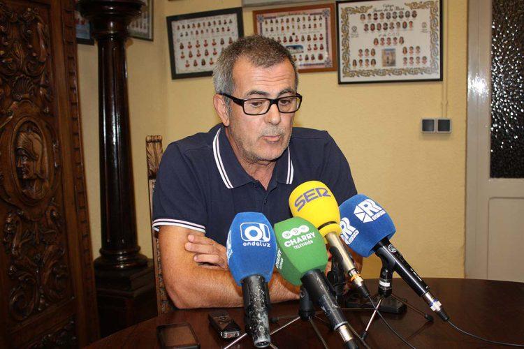 """Ortega: """"La culpa de lo que ha ocurrido con el CD Ronda es de unos y de otros; yo y mi directiva nos sentimos utilizados"""""""