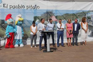 Momento de la presentación del programa de promoción en la Diputación de Málaga.