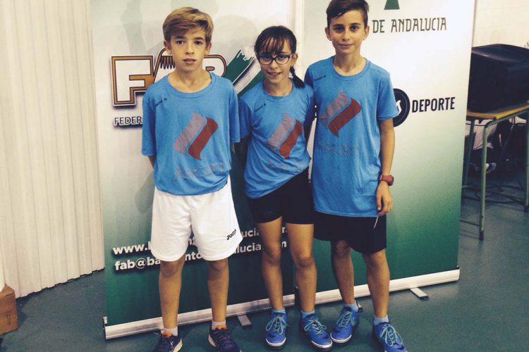 El Club Bádminton Ascari Ronda participó en el Trofeo Andalucía sub 11 y sub 13