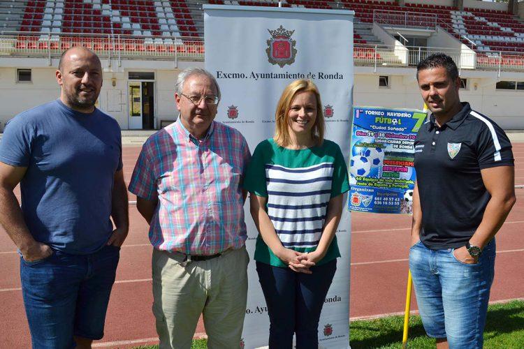 El CD Ronda organiza el I Torneo Navideño de Fútbol 7 'Ciudad Soñada'