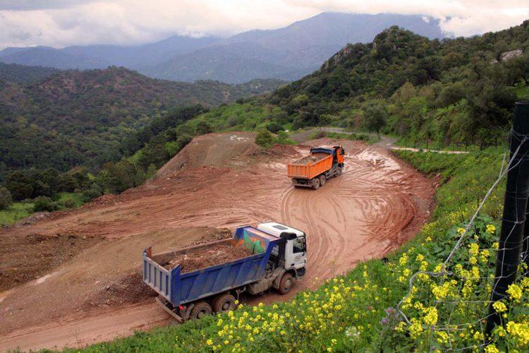 La Consejería de Fomento recibe 45 ofertas de empresas para realizar las mejoras de la carretera Gaucín-Manilva