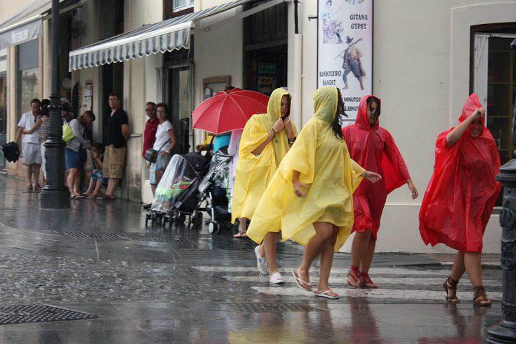 Ronda estará en alerta amarilla este domingo por intensas lluvias