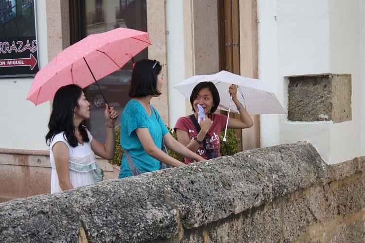 La lluvia dejó este domingo más de 30 litros de agua en algunos puntos de la Serranía