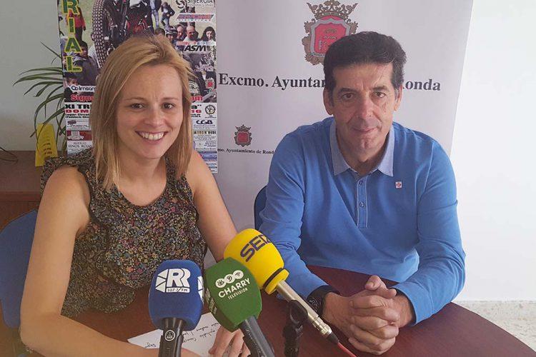 Cien pilotos participan este domingo en el XI Trial Ciudad de Ronda