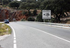 Esta vía une la Serranía con la Costa.