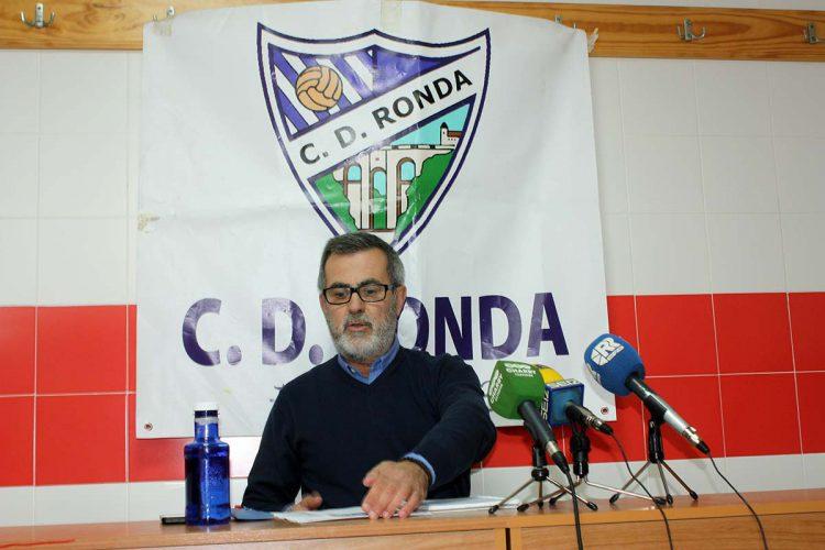 El presidente del CD Ronda pide disculpas por los insultos que recibió un periodista deportivo