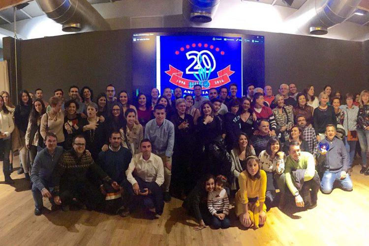 El Club Bádminton Ascari Ronda celebró con un gran ambiente su XX aniversario