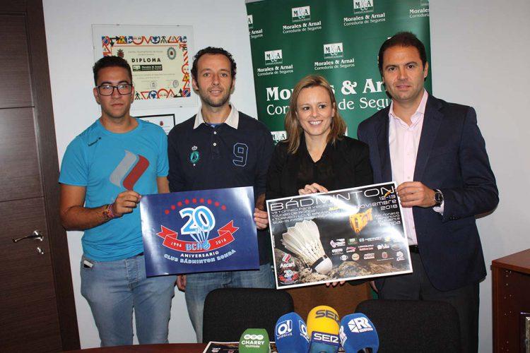 Todo preparado para la celebración del 20 aniversario del Club Bádminton Ascari Ronda