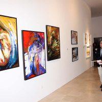 La exposición permanecerá hasta el 29 de este mes en Santo Domingo.