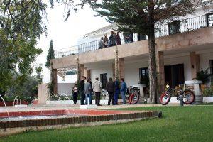 Jardines del hotel de cuatro estrellas situado a las afueras de Ronda.