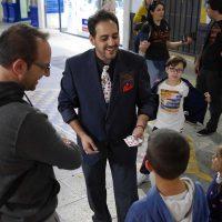 Los magos ofrecerán sus espectáculos en diferentes rincones de Ronda y en el Teatro Vicente Espinel.