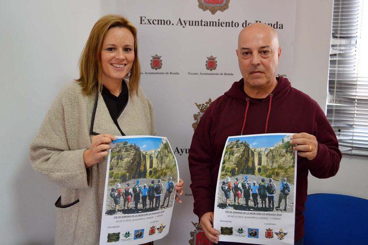 Ronda acogerá la 'Semana de la Montaña de Málaga' los días 19 y 20 de noviembre