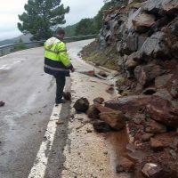 La Diputación adjudica por 1,5 millones de euros el arreglo de cuatro carreteras de la Serranía para paliar daños por temporales