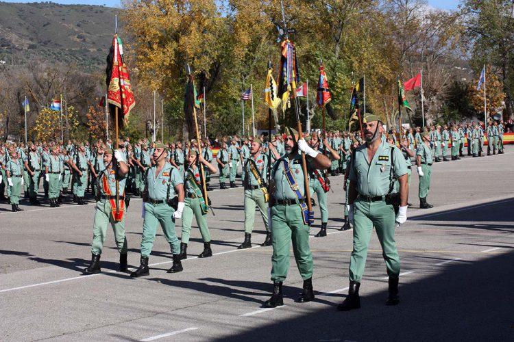 La Legión celebrará el sábado la festividad de la Inmaculada, patrona del arma de Infantería, con una parada militar