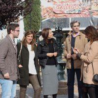 Los populares apoyan a los empresarios rondeños en sus quejas por la Feria del Marisco