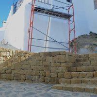 Parauta finaliza las obras de remodelación de la calle Calvario