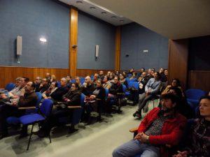 Cerca de 50 afectados por las cláusulas suelo asistieron a la charla informativa.