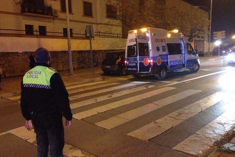 Una mujer resulta herida tras ser atropellada en un paso de peatones de la carretera de Sevilla