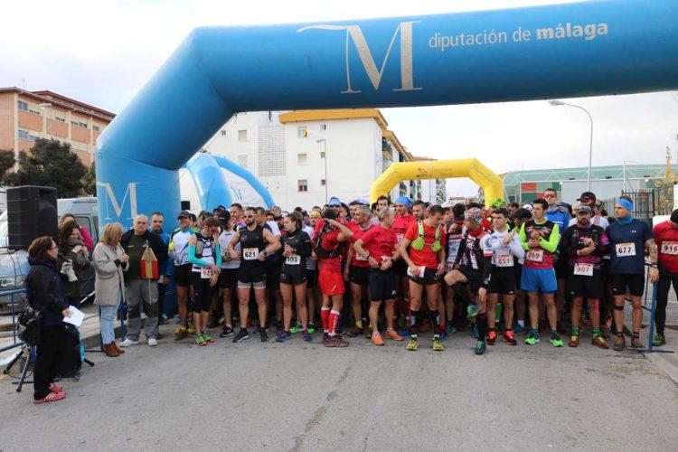 Cerca de 750 deportistas participan en la carrera de Acinipo, la primera prueba puntuable de la LRU