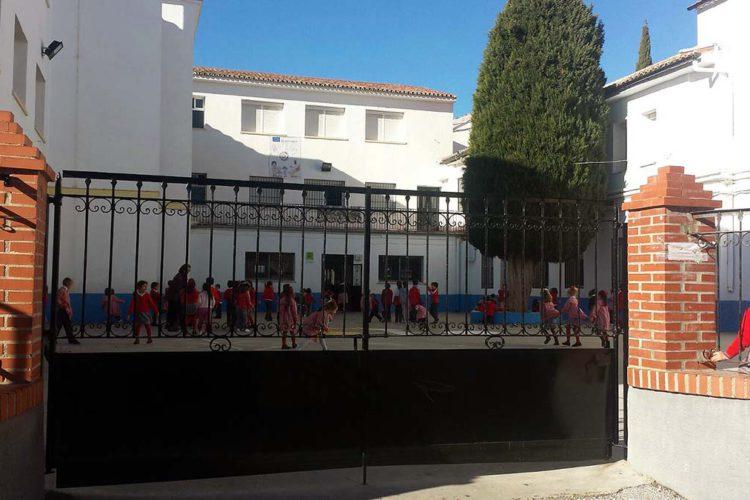 Roban durante la noche en el colegio Fernando de los Ríos causando importantes destrozos