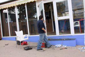 Diferentes instalaciones de El Fuerte han sido dañadas.