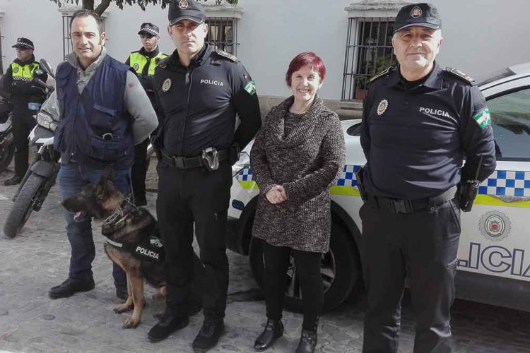 La Policía Local dispondrá de una unidad canina de forma temporal para tareas de vigilancia y lucha contra la droga