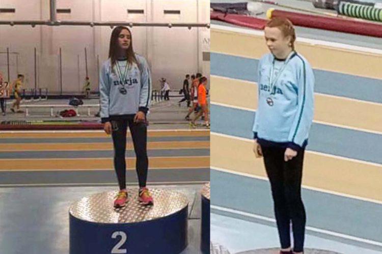 Dos jóvenes corredoras de la Serranía logran clasificarse para el Campeonato Nacional de Atletismo