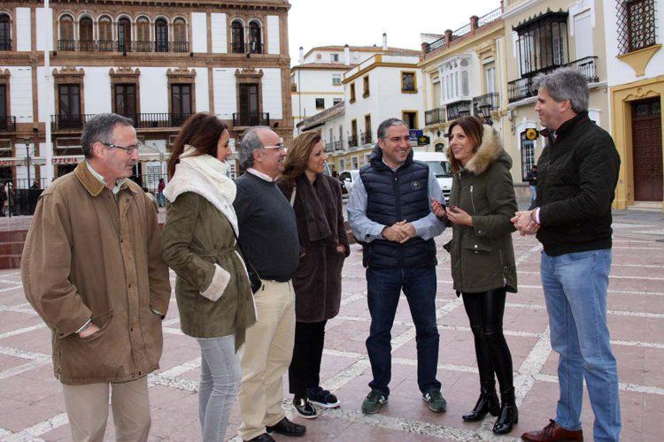 """El presidente del PP de Málaga afirma que el Tripartito """"no plantea proyectos e iniciativas interesantes para Ronda"""""""