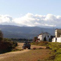 Organizan una marcha para reclamar que se reinicien las obras de la variante de Arriate y que dentro de ella se conserve la Cañada Verde