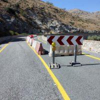 La Junta finaliza la reparación de emergencia de la carretera paisajística (A-369), a la altura de Algatocín, con una inversión de 400.000 euros
