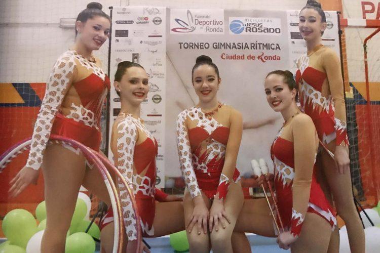 Más de 300 deportistas participaron en el IX Torneo de Gimnasia Rítmica 'Ciudad de Ronda'