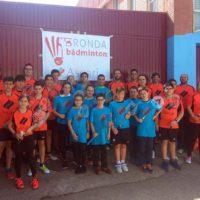 El Club Bádminton Ascari Ronda supera otra ronda y se acerca a la final del campeonato provincial