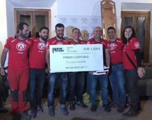 El equipo EspeleoSocorro ganó el campeonato.