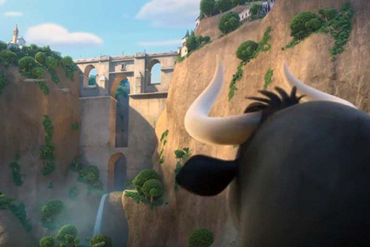 La película de 'Ferdinand', el toro pacífico que se pasea por el Tajo de Ronda, se estrena el 22 de diciembre