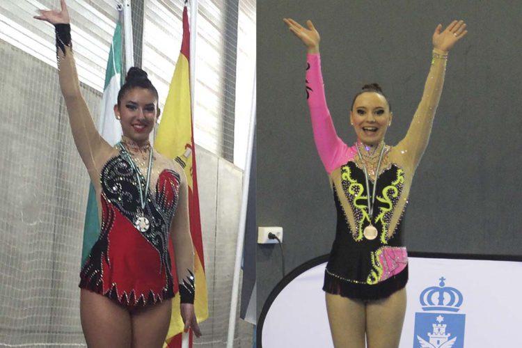 Dos gimnastas del Club AGRA logran un segundo puesto en sendos campeonatos nacionales