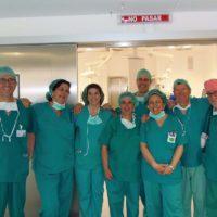 Comienza la actividad en el área quirúrgica del nuevo Hospital de la Serranía con la cirugía sin ingreso