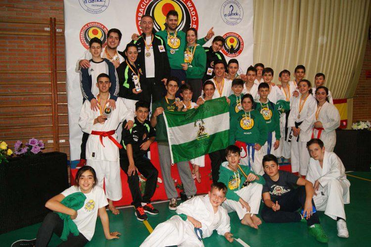 Buena actuación del Club Bushido en el XIX Campeonato de España de Kárate celebrado en Madrid