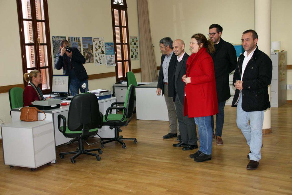 La oca traslada de forma provisional sus oficinas a la for Oficina comarcal agraria