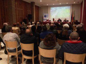 Más de 70 personas asistieron a la presentación del estudio.