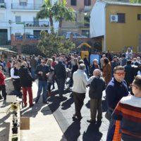 Los vecinos de Pujerra se echaron a la calle para celebrar juntos el Día de Andalucía