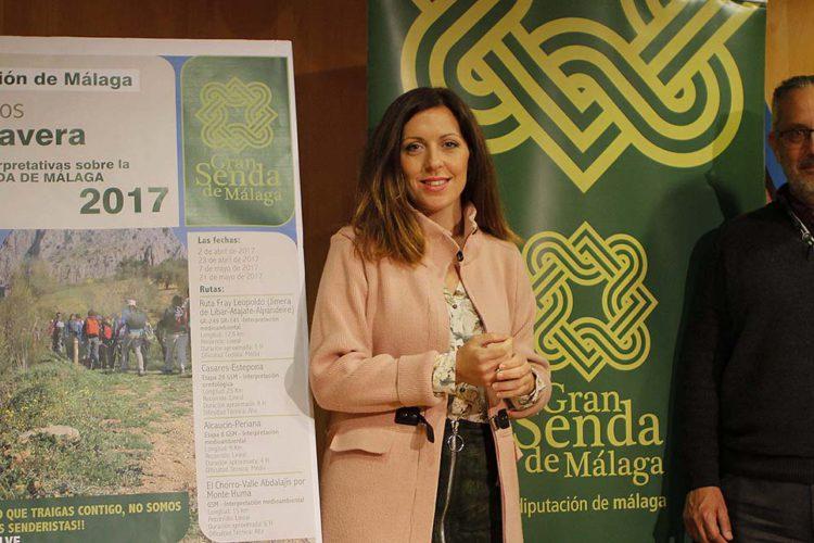 La Diputación incluye la Ruta de Fray Leopoldo en las actividades de la Gran Senda de Málaga para esta primavera