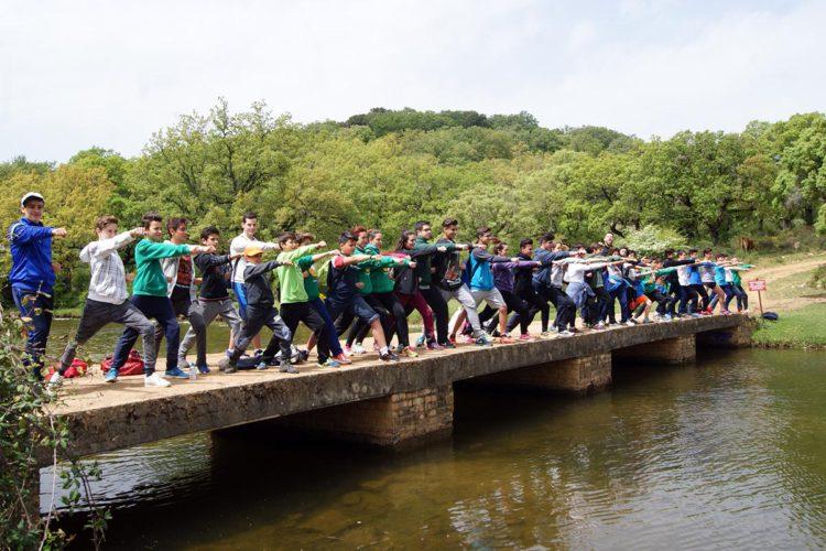 El Club Bushido pone en marcha las 'Rutas de Primavera' para sus karatecas